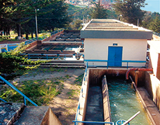 Water treatment reservoir
