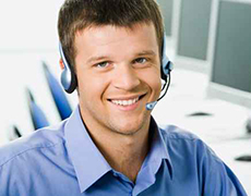 white collar worker headset